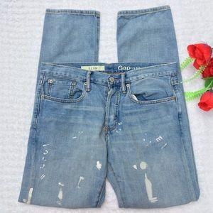 Gap Men's Paint Splattered Jeans